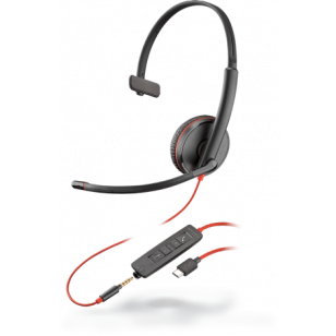 Plantronics Blackwire C3215 USB-C Headset