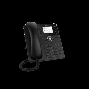 Snom D735 SIP schwarz Tischtelefon
