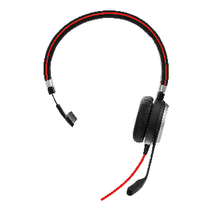 Jabra Evolve 40 MS Mono USB-C Headset Vorne