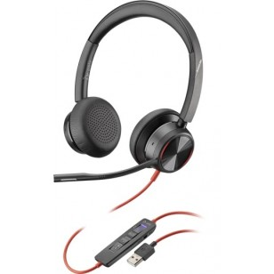 Poly Blackwire 8225-M USB-A ANC Headset