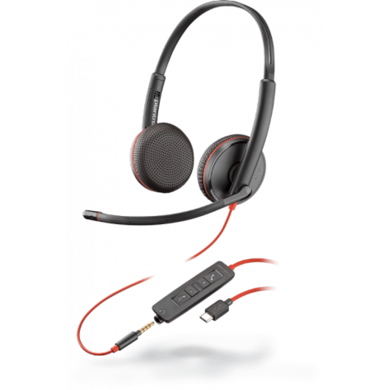 Plantronics Blackwire C3225 USB-C Headset