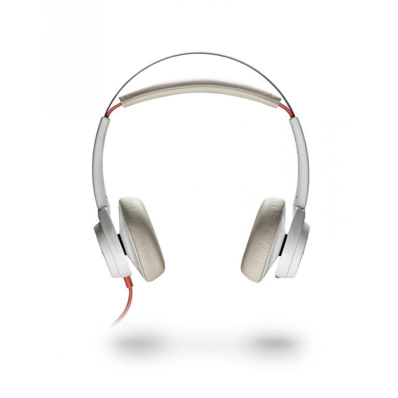 Plantronics Blackwire C7225 USB Headset weiss