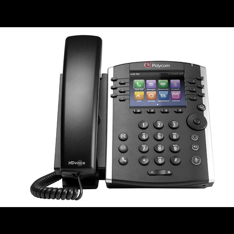 Polycom VVX 410 MS IP Telefon