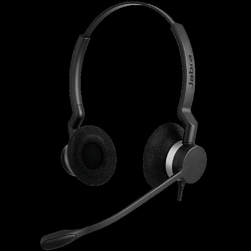 Jabra BIZ 2300 Duo Wideband Headset Vorne