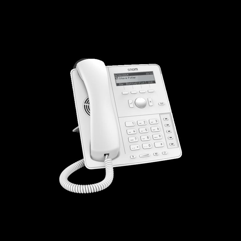 Snom D715 SIP weiss Tischtelefon