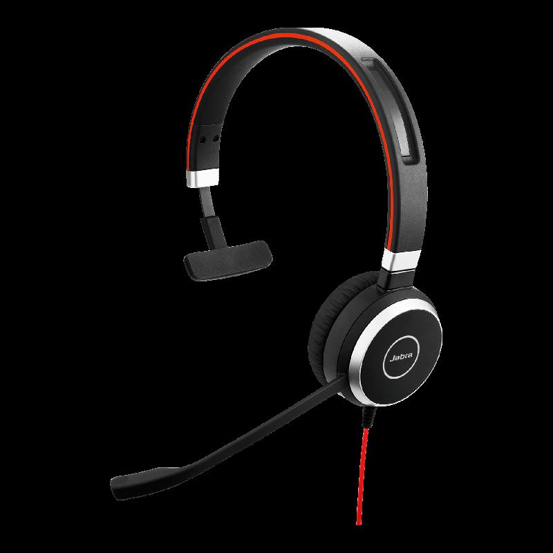 Jabra Evolve 40 UC Mono USB-C Headset Seite