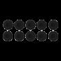 Jabra BIZ2400 II 10 Stück L Schaumstoffohrkissen